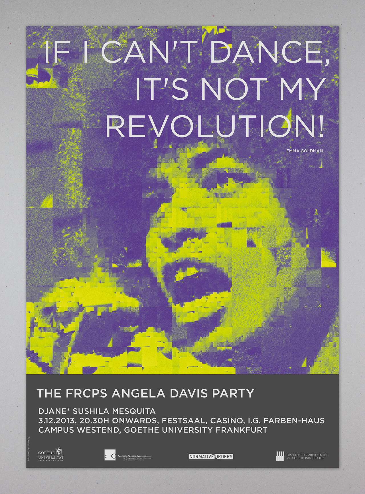 Angela Davis Party: If I can't dance, it's not my revolution!